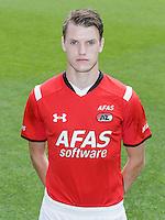 Thomas Ouwejan during the team photocall of AZ Alkmaar on July 17, 2015 at Afas Stadium in Alkmaar, The Netherlands