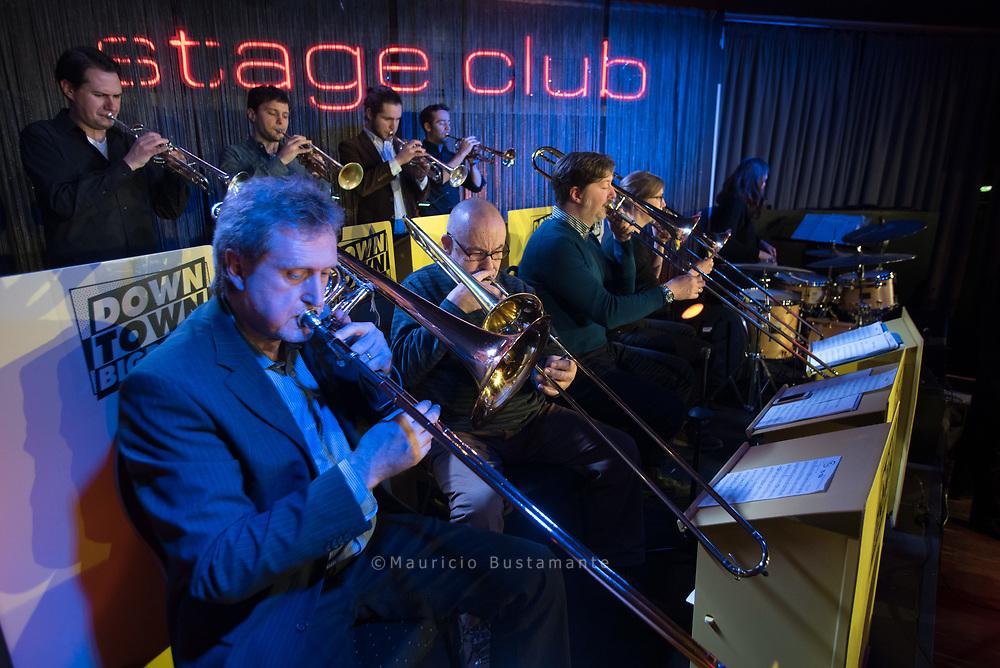 Downtown Bigband, Stage Club Hamburg 11.02.2018. Foto: Mauricio Bustamanate