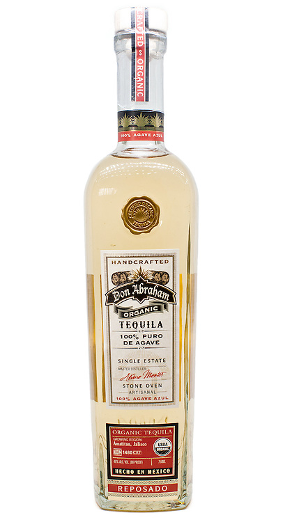 Don Abraham Organic Tequila Reposado -- Image originally appeared in the Tequila Matchmaker: http://tequilamatchmaker.com