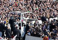 Rome, 27-02-2013<br /> <br /> Last audience of Pope Benedict<br /> <br /> Photo:Bernard Rubsamen/ Royalportraits EUrope