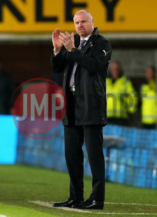 Burnley manager Sean Dyche - Mandatory by-line: Robbie Stephenson/JMP - 30/10/2017 - FOOTBALL - Turf Moor - Burnley, England - Burnley v Newcastle United - Premier League