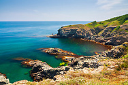 Green sea shore of Strandzha region