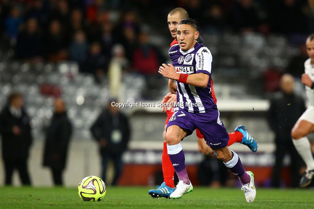 Adrien Regattin - 20.12.2014 - Toulouse / Guingamp - 17eme journee de Ligue 1 <br />Photo : Manuel Blondeau / Icon Sport