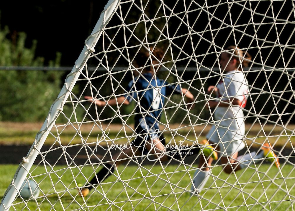 Varsity Soccer Belmont versus Bow.  Karen Bobotas/ for the Laconia Daily Sun