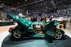 World Premiere of Koenigsegg Regera at Geneva International Motor Show 2017