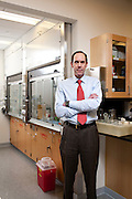 Dr Brian Druker, developer of Gleevec, for the treatment of Chronic Myeloid Leukemia,  photographed at the Knight Cancer Institute at Oregon Health Sciences University