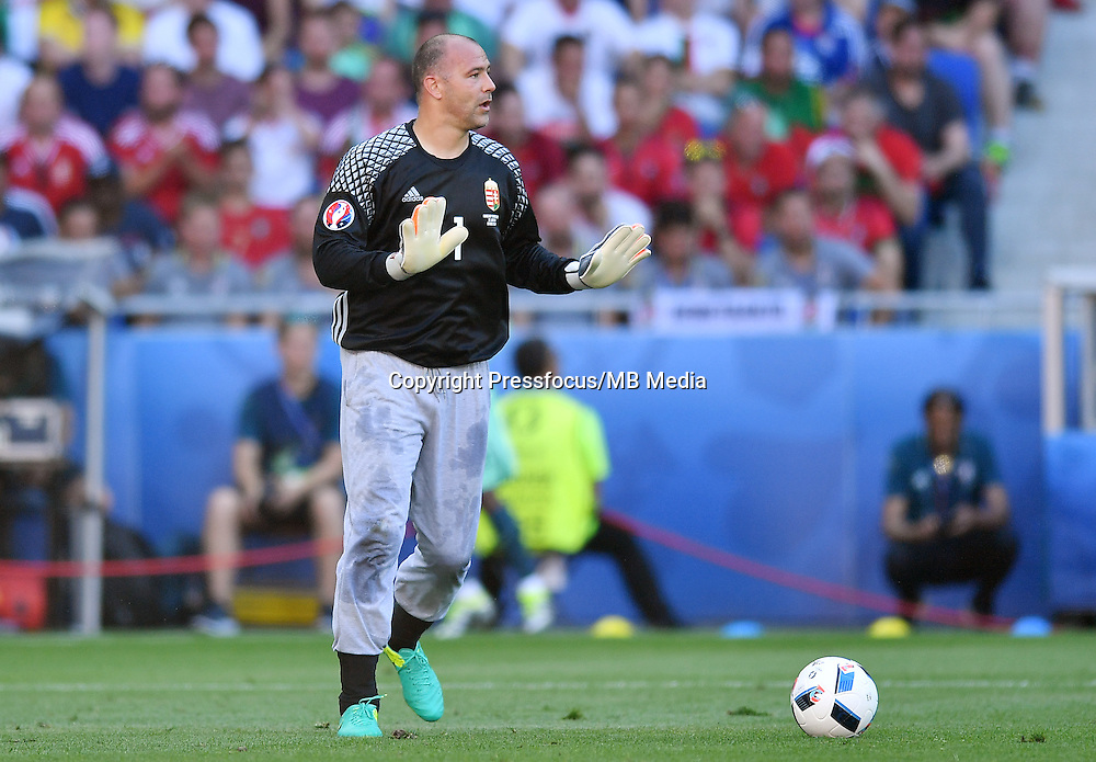 2016.06.22<br /> Football UEFA Euro 2016 group F game between Hungary and Portugal<br /> Gabor Kiraly<br /> Credit: Lukasz Laskowski / PressFocus