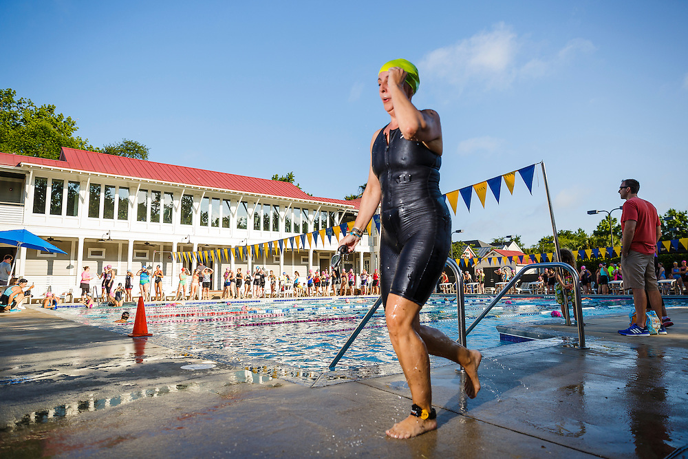 Images from the 2016 She Tris womens triathlon at I'On Swim Club in Mt. Pleasant near Charleston, South Carolina.