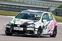 #20 Damani MARCANO  Team Hard  Volkswagen Golf Milltek Sport Volkswagen Racing Cup at Rockingham, Corby, Northamptonshire, United Kingdom. April 30 2016. World Copyright Peter Taylor/PSP.