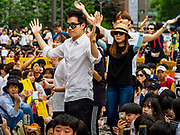 "SEOUL, SOUTH KOREA: South Koreans participate in the Wednesday protest at the Japanese embassy in Seoul. The Wednesday protests have been taking place since January 1992. Protesters want the Japanese government to apologize for the forced sexual enslavement of up to 400,000 Asian women during World War II. The women, euphemistically called ""Comfort Women"" were drawn from territories Japan conquered during the war and many came from Korea, which was a Japanese colony in the years before and during the war. The ""comfort women"" issue is still a source of anger of many people in northeast Asian areas like South Korea, Manchuria and some parts of China.    PHOTO BY JACK KURTZ   <br /> Wednesday Demonstration demanding Japan to redress the Comfort Women problems"