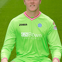 St Johnstone FC...Season 2011-12<br /> Zander Clark<br /> Picture by Graeme Hart.<br /> Copyright Perthshire Picture Agency<br /> Tel: 01738 623350  Mobile: 07990 594431