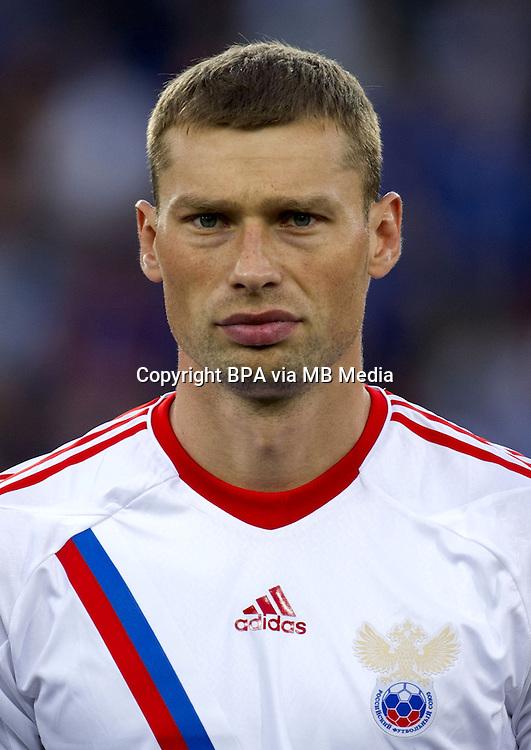 Football Fifa Brazil 2014 World Cup / <br /> Russia National Team - <br /> Aleksei Berezutski of Russia