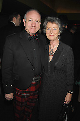 MR & MRS JAMES McGREGOR at 'Not Another Burns Night' in association with CLIC Sargebt and Children's Hospice Association Scotland held at ST.Martins Lane Hotel, London on 3rd March 2008.<br />