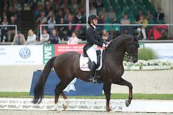 Kasprzak Anna, (DEN), Donnperignon<br /> Grand Prix Special<br /> CDIO Hagen 2015<br /> © Hippo Foto - Stefan Lafrentz