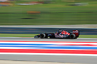Max Verstappen (NLD) Scuderia Toro Rosso STR9 Test Driver.<br /> United States Grand Prix, Friday 31st October 2014. Circuit of the Americas, Austin, Texas, USA.