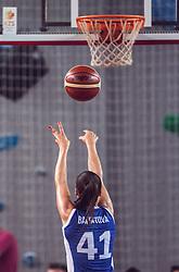 Barbora Balintova of Slovakia during Women's Basketball - Slovenia vs Slovaska on the 14th of June 2019, Dvorana Poden, Skofja Loka, Slovenia. Photo by Matic Ritonja / Sportida