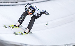 10.01.2014, Kulm, Bad Mitterndorf, AUT, FIS Ski Flug Weltcup, Probedurchgang, im Bild Gregor Deschwanden (SUI) // Gregor Deschwanden (SUI) during the Trial jump of FIS Ski Flying World Cup at the Kulm, Bad Mitterndorf, <br /> Austria on 2014/01/10, EXPA Pictures © 2014, PhotoCredit: EXPA/ JFK