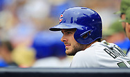 May 29, 2017 - San Diego, CA, USA - Chicago Cubs' Kris Bryant looks on during a game against the San Diego Padres on Monday, May 29, 2017 at Petco Park in San Diego, Calif. (Credit Image: © K.C. Alfred/TNS via ZUMA Wire)