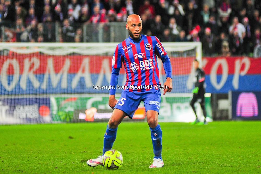 Ala Eddine Yahia - 20.12.2014 - Caen / Bastia - 19eme journee de Ligue 1 <br /> Photo : Philippe Le Brech / Icon Sport