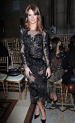 Millie Mackintosh at the Julien Macdonald show at London Fashion Week Autumn/Winter 2014/15, Saturday, 15th February 2014. Picture by Stephen Lock / i-Images