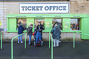 Ticket office during the EFL Sky Bet League 2 match between Forest Green Rovers and Walsall at the New Lawn, Forest Green, United Kingdom on 8 February 2020.