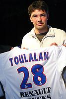 Fotball<br /> Foto: imago/Digitalsport<br /> NORWAY ONLY<br /> <br /> 19.05.2006  <br /> <br /> Neuzugang Jeremy Toulalan (Lyon) spielt in der neuen Saison im Trikot von Olympique Lyon