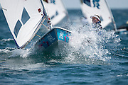 2012 Olympic Games London / Weymouth<br /> Racing day 1 Laser<br /> Laser RadialIRLMurphy Annalise
