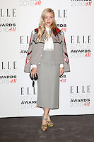 Kate Foley, ELLE Style Awards 2016, Millbank London UK, 23 February 2016, Photo by Richard Goldschmidt