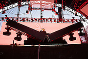 DJ Snake at the Bass Camp stage at the Pemberton Music Festival.  Pemberton BC, Canada