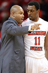 MiKyle McIntosh Illinois State Redbird basketball photos