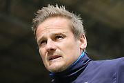 AFC Wimbledon manager Neal Ardley during the EFL Sky Bet League 1 match between Swindon Town and AFC Wimbledon at the County Ground, Swindon, England on 14 April 2017. Photo by Stuart Butcher.