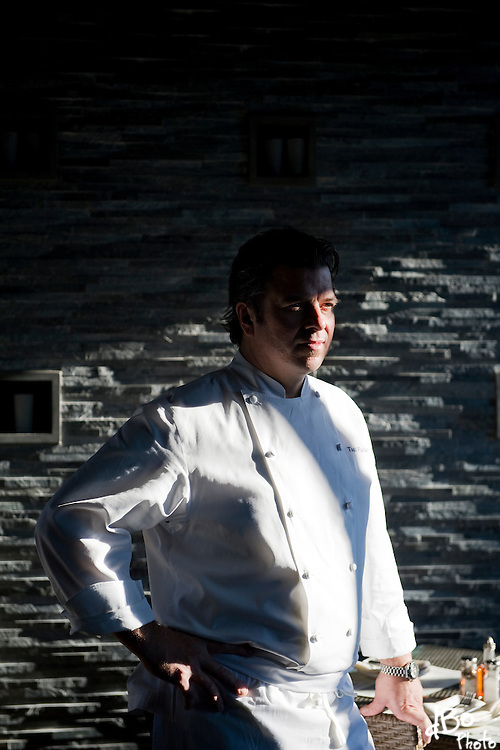 Chef Todd Fuller poses for a portrait at Treno, Tuesday, Nov. 9, 2010 in Westmont.