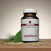 Bottle of Luv Your Colon by Better Life BAsics with Mint, Fennel and Fennel Seeds