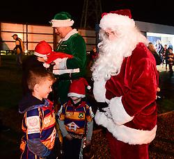 Santa talks to fans - Mandatory by-line: Alex Davidson/JMP - 22/12/2017 - RUGBY - Sixways Stadium - Worcester, England - Worcester Warriors v London Irish - Aviva Premiership