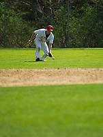 St Paul's School varsity baseball with New Hampton.  ©2109 Karen Bobotas Photographer