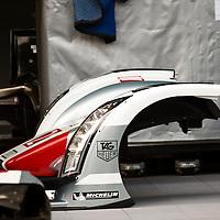 #2 Audi R18 e-tron quattro, nose part, FIA WEC 2013 6h Silverstone