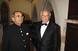 eft to right, Gopichand Hinduja and VICTOR TCHENGUIZ at the 2nd Fortune Forum Summit and Gala Dinner held at the Royal Courts of Justice, The Strand, London on 30th November 2007.<br /><br />NON EXCLUSIVE - WORLD RIGHTS