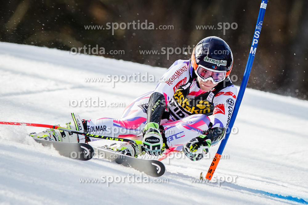 Taina Barioz (FRA) during 7th Ladies' Giant slalom at 52nd Golden Fox - Maribor of Audi FIS Ski World Cup 2015/16, on January 30, 2016 in Pohorje, Maribor, Slovenia. Photo by Ziga Zupan / Sportida