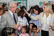 Vazquez visita la escuela Yugoslavia