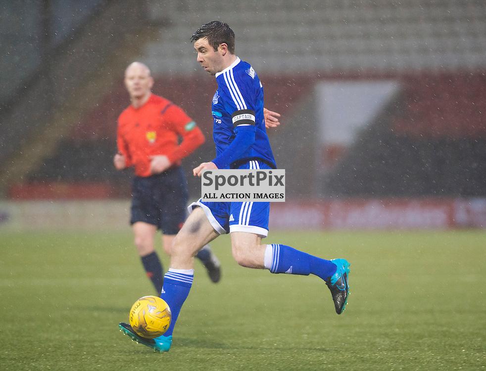Steven Noble of Peterhead in action against Airdrie......(c) BILLY WHITE | SportPix.org.uk