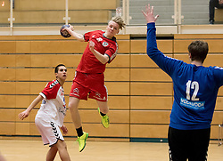 05.11.2016, SPORT. ZENTRUM Niederösterreich, St. Pölten, AUT, Invitational, Österreich vs Serbien, im Bild Severin Lampert (AUT)// during the Invitational match between Austria and Serbia at the SPORT. ZENTRUM Niederösterreich, St. Pölten, Austria on 2016/11/05, EXPA Pictures © 2016, PhotoCredit: EXPA/ Sebastian Pucher