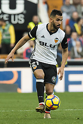 December 23, 2017 - Valencia, Spain - Martin Montoya during the match between Valencia CF against Villarreal CF , week 17 of  La Liga 2017/18 at Mestalla stadium, Valencia, SPAIN - 17th December of 2017. (Credit Image: © Jose Breton/NurPhoto via ZUMA Press)
