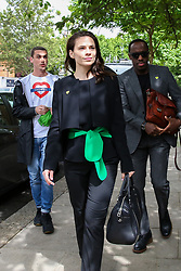 © Licensed to London News Pictures. 14/06/2019. London, UK. Survivors, family and friends of the victims and community members arrive at St Helen's Church to commemorate the second anniversary of the Grenfell Tower fire service. On 14 June 2017, just before 1:00am a fire broke out in the kitchen of the fourth floor flat at the 24-storey residential tower block in North Kensington, West London, which took the lives of 72 people. More than 70 others were injured and 223 people escaped. Photo credit: Dinendra Haria/LNP