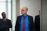 DEU, Deutschland, Germany, Berlin, 27.09.2017: Thomas Ehrhorn (MdB, AfD) auf dem Weg zur Fraktionssitzung der AfD-Bundestagsfraktion im Deutschen Bundestag.