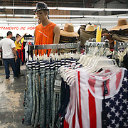 HIALEAH, FLORIDA - JUNE 24, 2016<br /> Displays of some of the men's clothing for sale in Noooo (&ntilde;oooo) Que Barato,  in Hialeah, Florida. The store sells all kinds of goods and is a very popular stop for Cubans who are traveling to Cuba to stock up on supplies to carry to relatives in the island nation.<br /> (Photo by Angel Valentin/Freelance)