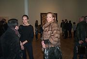 MASHA SHALUIEVA; DONA KORBAN, Panta Rhei. An exhibition of work by Keith Tyson. The Pace Gallery. Burlington Gdns. 6 February 2013.