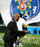 20090510: PORTO, PORTUGAL - FC Porto vs Nacional da Madeira: Portuguese League 2008/2009, 28th round. In picture: Jesualdo Ferreira (Porto coach) celebrating the victory. PHOTO: Ricardo Estudante/CITYFILES
