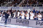 Germani Basket Brescia<br /> Dolomiti Energia Trentino Trento vs Germani Basket Brescia<br /> Lega Basket Serie A 2017/2018<br /> Trento 14/10/2017<br /> Foto Ciamillo-Castoria/A.Gilardi