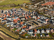 Nederland, Utrecht, Gemeente Stichtse Vecht, 20-02-2012; Loenen aan de Vecht, Nieuwbouwwijkje..New housing district in the village of Loenen aan de Vecht. luchtfoto (toeslag), aerial photo (additional fee required);.copyright foto/photo Siebe Swart.