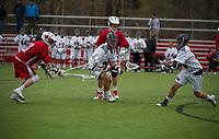 St Pauls School varsity boys lacrosse. ©2017 Karen Bobotas Photographer